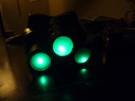 Splinter Cell goggles painted by W4RH0US3
