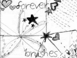 Forever Brushes by fixation-of-elation