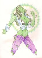 She Hulk Transforming by Lionzstorm