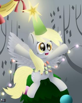 Derpy Hooves MLP:FIM  Hearts Warming Eve by Electric-Television