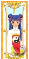 Meilin card by mene