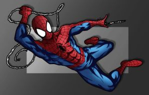 Spider-Man Colored. by Lefhiot
