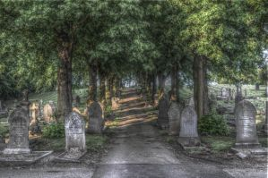Grave Yard - HDR by teslaextreme
