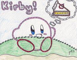 Epic Yarn Kirby by Jenime39