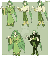 Gemsona: Prehnite Outifts by forte-girl7
