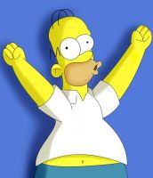 Homer from the Simpsons ....Doh... by Romwba