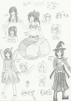 Mystery AU collab sketchdump (mostly MaPhilIndo!) by melonstyle