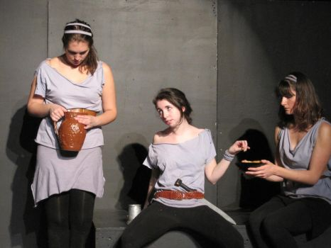 Penelopiad - Telemachus and the maids by Goldenspring