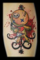 Voodoo Doll Tattoo by Omedon