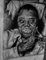 Louis Armstrong by AlperSngn