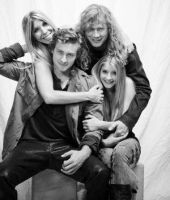 Dave Mustaine family by shewolfhetfield