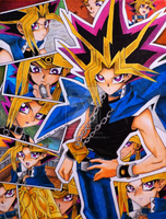 Yami Yugi collage by KisaraAkiRyu