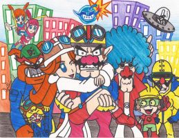 WarioWare Inc. by RavenTheAngelofDarkn