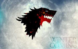 House Stark wallpaper by GeniusMage