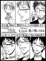 Bleach Shuhei style meme by Chitanchitan