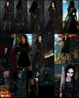Alice 2_studded-leather-dress by Cerberus071984