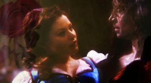 Rumpelstiltskin and Belle by HarmonyB2011