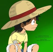 Monkey D. Luffy by Phirek