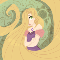 Another Rapunzel by sharkie19