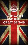 Keep Calm and Keep Great Britain by yereverluvinuncleber