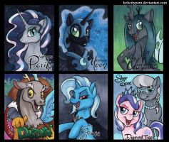 Villain Badges by HelicityPoni
