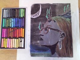 Linocut In Color by LilithVallin