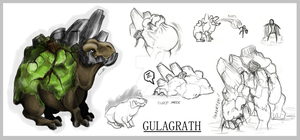 Monster Design ~ Gulagrath by CaimRyo