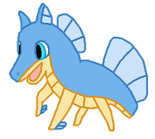 Seahorse by Kyle-Dove