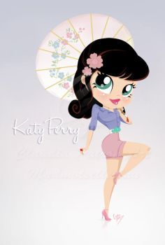 Katy Perry PinUp by madmoiselleclau