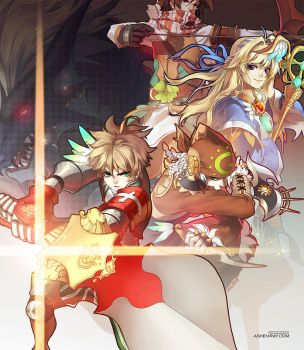 Dragonica/Dragonsaga by shilin
