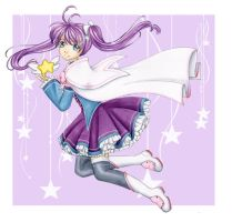 Magical Mage Girl by Dawnie-chan