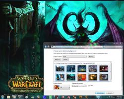 Windows 7 Themes: WoW by pictionaryo
