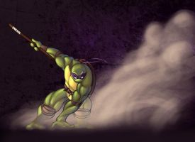 TMNT-Donatello by Averno7