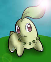 Chikorita by xXHeartless-RosesXx