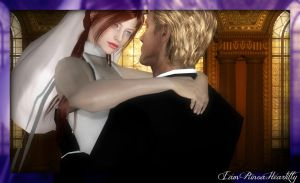 The Angel and The God (Wedding photo 2) by IamRinoaHeartilly