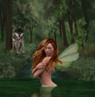 Water Faerie by anitalee