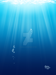 Underwater Scenery - Feb 27, 2016 by ColorfulArtist86