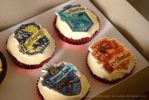 Hogwarts House Cup(cakes) by EternalTale