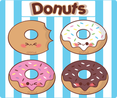 Donuts by QTKiwi