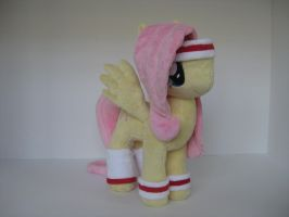 Friendship is Magic Hurricane Fluttershy Plush by GreenTeaCreations