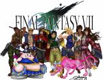 Final Fantasy VII Group by Zchanning