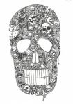 What's inside my skull by EvanescentLaycrimose