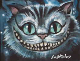 The Cheshire Cat by sullen-skrewt