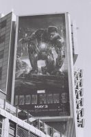 Iron Man Over Yonge Street by Neville6000