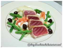 Nicoise Salad by Candistache