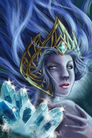 Janna, The Frost Queen by Pixel-League