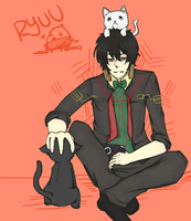 Ryuu [Request] by pottertwins186