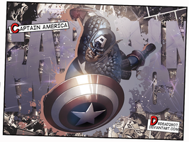 Captain America by DrDead2807