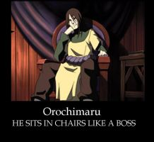 Orochimaru as a Boss by RavenSnipper