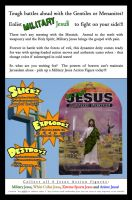 Military Jesus Ad Campaign by myndbyndr